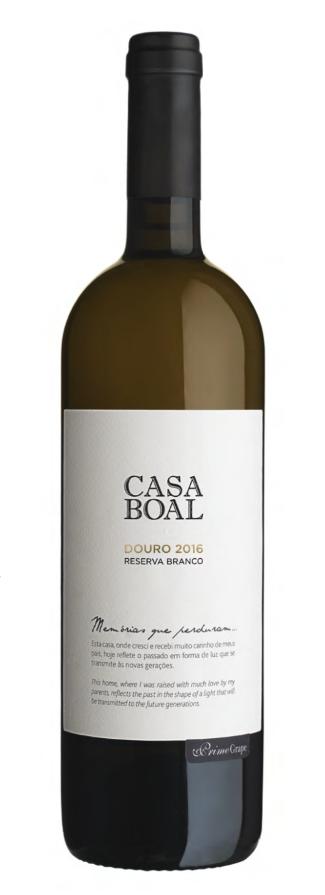 CASA BOAL | RESERVA BRANCO 2016