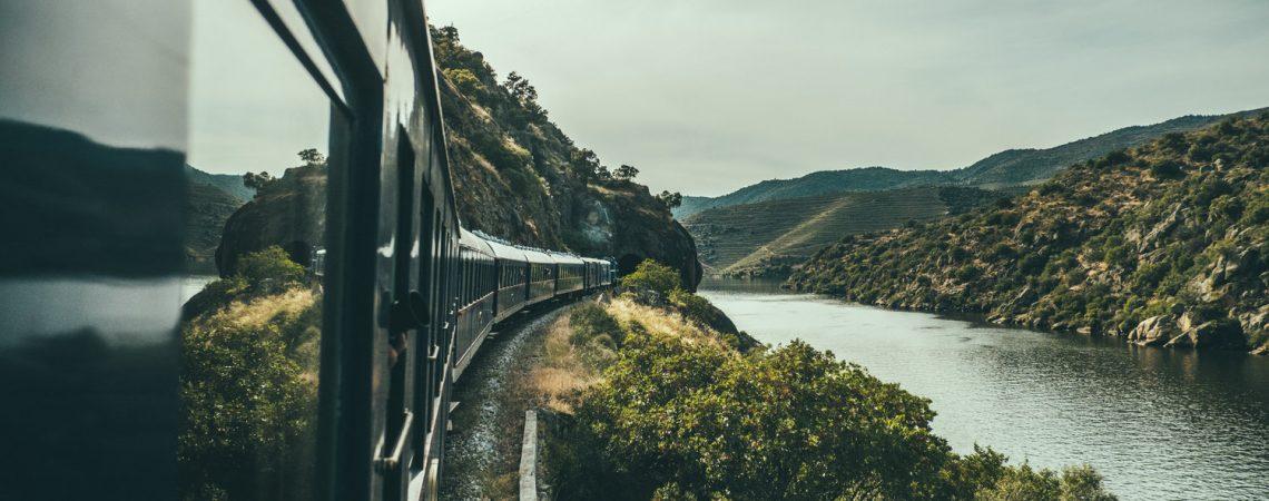 Paisagem vista pelo Comboio Presidencial