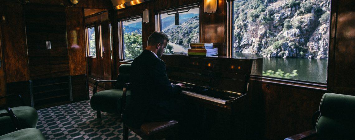 Dentro do Comboio Presidencial