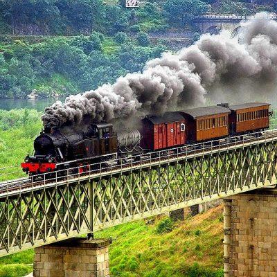 Comboio histórico do Douro